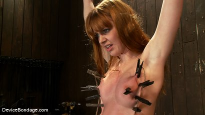 Photo number 5 from Marie McCray<br> So sweet, so innocent, so wrist suspended, so fucked! shot for Device Bondage on Kink.com. Featuring Marie McCray in hardcore BDSM & Fetish porn.