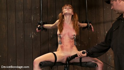 Photo number 13 from Marie McCray<br> So sweet, so innocent, so natural. shot for Device Bondage on Kink.com. Featuring Marie McCray in hardcore BDSM & Fetish porn.
