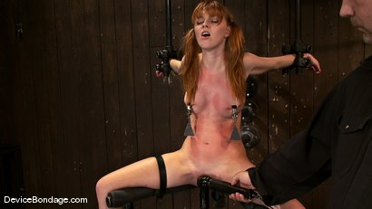 Photo number 4 from Marie McCray<br> So sweet, so innocent, so natural. shot for Device Bondage on Kink.com. Featuring Marie McCray in hardcore BDSM & Fetish porn.