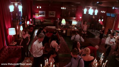 Photo number 1 from The First Cocktail Party shot for The Upper Floor on Kink.com. Featuring Cherry Torn, Savannah West, Bella Rossi, Sarah Shevon, Mister Torn, Catrina Cummings, Maestro and Curt Wooster in hardcore BDSM & Fetish porn.