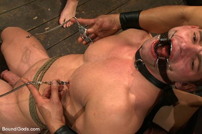 Photo number 9 from Dom Training Christian Wilde <br /> Live Shoot shot for Bound Gods on Kink.com. Featuring Van Darkholme, Patrick Rouge and Christian Wilde in hardcore BDSM & Fetish porn.