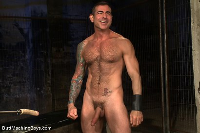 Photo number 15 from Leather Daddy Nick Moretti shot for Butt Machine Boys on Kink.com. Featuring Nick Moretti in hardcore BDSM & Fetish porn.