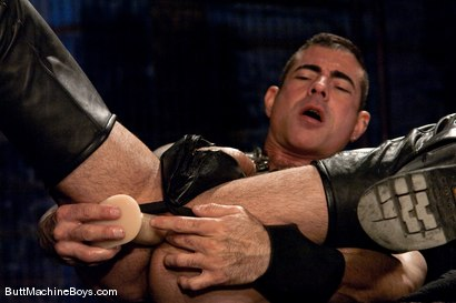 Photo number 4 from Leather Daddy Nick Moretti shot for Butt Machine Boys on Kink.com. Featuring Nick Moretti in hardcore BDSM & Fetish porn.