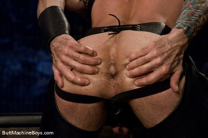 Photo number 2 from Leather Daddy Nick Moretti shot for Butt Machine Boys on Kink.com. Featuring Nick Moretti in hardcore BDSM & Fetish porn.