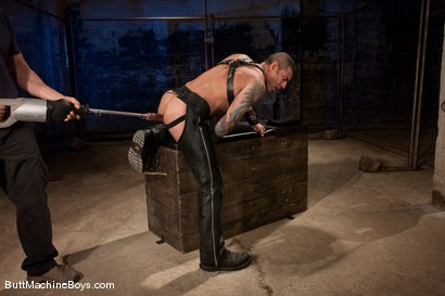 Photo number 6 from Leather Daddy Nick Moretti shot for Butt Machine Boys on Kink.com. Featuring Nick Moretti in hardcore BDSM & Fetish porn.