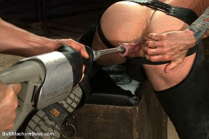 Photo number 7 from Leather Daddy Nick Moretti shot for Butt Machine Boys on Kink.com. Featuring Nick Moretti in hardcore BDSM & Fetish porn.