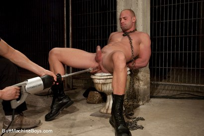 Photo number 5 from Patrick Rouge shot for Butt Machine Boys on Kink.com. Featuring Patrick Rouge in hardcore BDSM & Fetish porn.