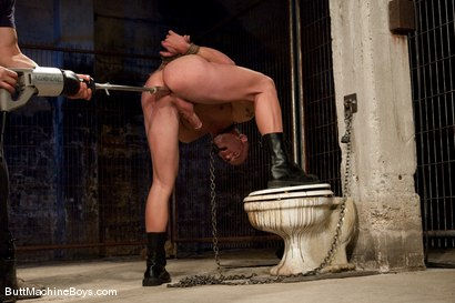 Photo number 4 from Patrick Rouge shot for Butt Machine Boys on Kink.com. Featuring Patrick Rouge in hardcore BDSM & Fetish porn.