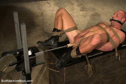 Photo number 13 from Patrick Rouge shot for Butt Machine Boys on Kink.com. Featuring Patrick Rouge in hardcore BDSM & Fetish porn.