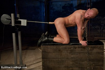 Photo number 9 from Patrick Rouge shot for Butt Machine Boys on Kink.com. Featuring Patrick Rouge in hardcore BDSM & Fetish porn.