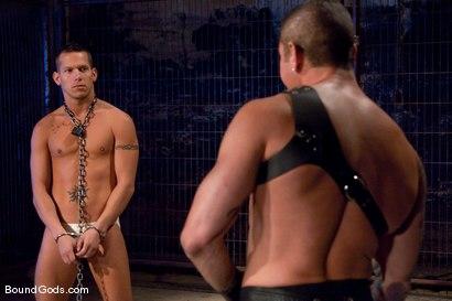 Photo number 1 from The Reluctant Slave shot for Bound Gods on Kink.com. Featuring Shane Frost and Nick Moretti in hardcore BDSM & Fetish porn.