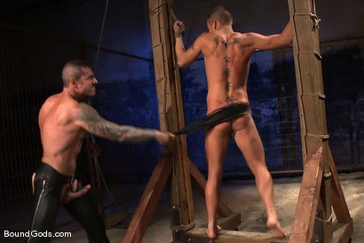 Photo number 9 from The Reluctant Slave shot for Bound Gods on Kink.com. Featuring Shane Frost and Nick Moretti in hardcore BDSM & Fetish porn.
