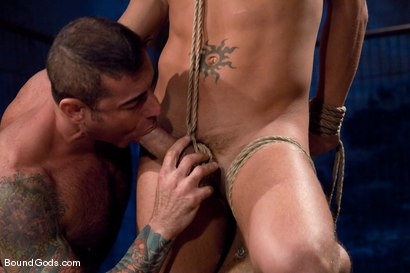 Photo number 4 from The Reluctant Slave shot for Bound Gods on Kink.com. Featuring Shane Frost and Nick Moretti in hardcore BDSM & Fetish porn.