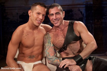 Photo number 15 from The Reluctant Slave shot for Bound Gods on Kink.com. Featuring Shane Frost and Nick Moretti in hardcore BDSM & Fetish porn.