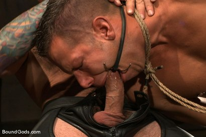 Photo number 7 from The Reluctant Slave shot for Bound Gods on Kink.com. Featuring Shane Frost and Nick Moretti in hardcore BDSM & Fetish porn.