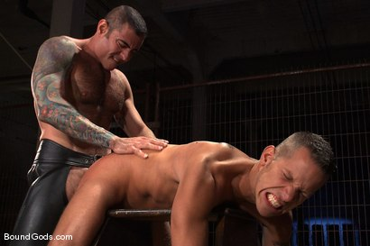 Photo number 11 from The Reluctant Slave shot for Bound Gods on Kink.com. Featuring Shane Frost and Nick Moretti in hardcore BDSM & Fetish porn.