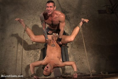 Photo number 14 from The Reluctant Slave shot for Bound Gods on Kink.com. Featuring Shane Frost and Nick Moretti in hardcore BDSM & Fetish porn.