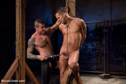 Photo number 5 from The Reluctant Slave shot for Bound Gods on Kink.com. Featuring Shane Frost and Nick Moretti in hardcore BDSM & Fetish porn.