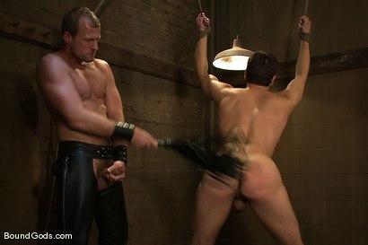 Photo number 5 from Derrek Gets Used. shot for Bound Gods on Kink.com. Featuring Scott Tanner and Derrek Diamond in hardcore BDSM & Fetish porn.