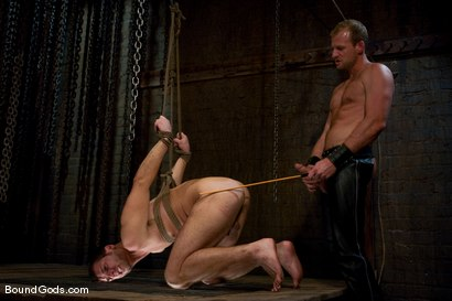 Photo number 12 from Derrek Gets Used. shot for Bound Gods on Kink.com. Featuring Scott Tanner and Derrek Diamond in hardcore BDSM & Fetish porn.