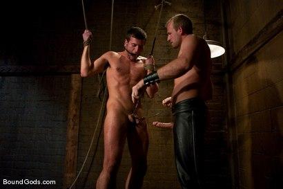 Photo number 1 from Derrek Gets Used. shot for Bound Gods on Kink.com. Featuring Scott Tanner and Derrek Diamond in hardcore BDSM & Fetish porn.