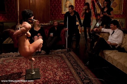 Photo number 13 from Torn's Dilemma shot for The Upper Floor on Kink.com. Featuring Cherry Torn and Maestro in hardcore BDSM & Fetish porn.