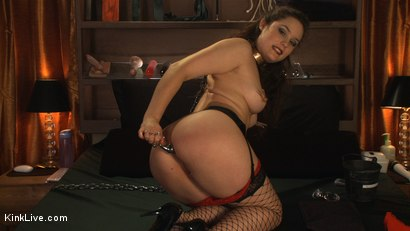 Photo number 1 from Charlotte Vale is Ready to Cum! shot for Kink Live on Kink.com. Featuring Charlotte Vale in hardcore BDSM & Fetish porn.