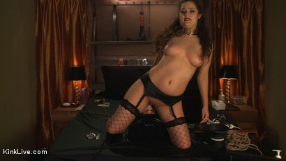 Photo number 13 from Charlotte Vale is Ready to Cum! shot for Kink Live on Kink.com. Featuring Charlotte Vale in hardcore BDSM & Fetish porn.