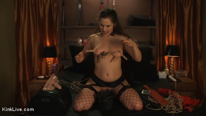 Photo number 15 from Charlotte Vale is Ready to Cum! shot for Kink Live on Kink.com. Featuring Charlotte Vale in hardcore BDSM & Fetish porn.
