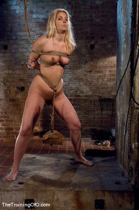 Photo number 8 from The Training of Hollie Stevens Day One shot for The Training Of O on Kink.com. Featuring Hollie Stevens and Maestro in hardcore BDSM & Fetish porn.
