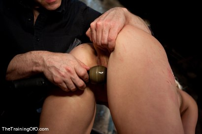 Photo number 11 from The Training of Hollie Stevens Day One shot for The Training Of O on Kink.com. Featuring Hollie Stevens and Maestro in hardcore BDSM & Fetish porn.