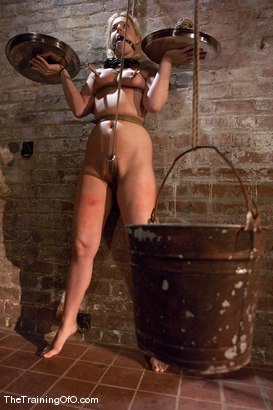 Photo number 6 from The Training of Hollie Stevens Day One shot for The Training Of O on Kink.com. Featuring Hollie Stevens and Maestro in hardcore BDSM & Fetish porn.