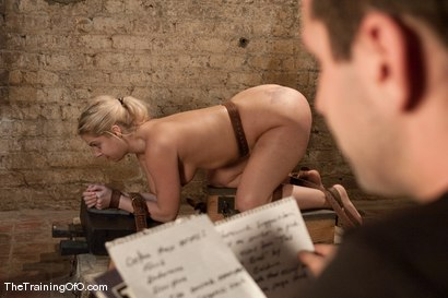 Photo number 11 from The Training of Holly Stevens Day Two shot for The Training Of O on Kink.com. Featuring Hollie Stevens and Maestro in hardcore BDSM & Fetish porn.