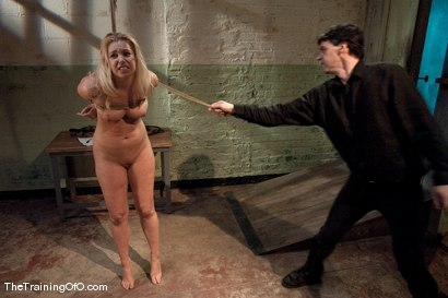 Photo number 8 from The Training of Holly Stevens Day Three shot for The Training Of O on Kink.com. Featuring Hollie Stevens and Maestro in hardcore BDSM & Fetish porn.