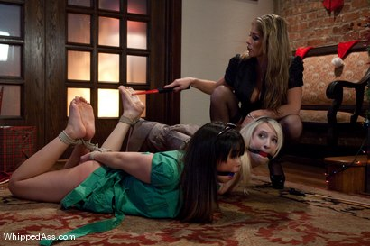 Photo number 5 from Holiday Punishment shot for Whipped Ass on Kink.com. Featuring Felony, Sasha Yung and Ashley Jane in hardcore BDSM & Fetish porn.