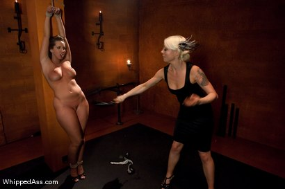 Photo number 2 from Kelly Divine shot for Whipped Ass on Kink.com. Featuring Lorelei Lee and Kelly Divine in hardcore BDSM & Fetish porn.