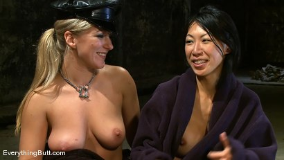 Photo number 14 from Dia and Tia done hard... shot for Everything Butt on Kink.com. Featuring Dia Zerva and Tia Ling in hardcore BDSM & Fetish porn.