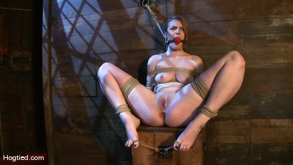 Photo number 9 from Welcome the new Category 5 girl Ivy Mokhov shot for Hogtied on Kink.com. Featuring Ivy Mokhov in hardcore BDSM & Fetish porn.