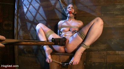 Photo number 11 from Welcome the new Category 5 girl Ivy Mokhov shot for Hogtied on Kink.com. Featuring Ivy Mokhov in hardcore BDSM & Fetish porn.