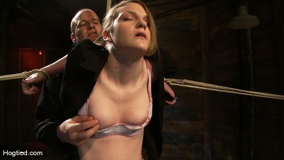 Photo number 1 from Welcome the new Category 5 girl Ivy Mokhov shot for Hogtied on Kink.com. Featuring Ivy Mokhov in hardcore BDSM & Fetish porn.
