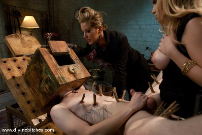 "Photo number 9 from Training of a Houseboy: Episode 4 ""Objectify"" shot for Divine Bitches on Kink.com. Featuring Aiden Starr, Maitresse Madeline Marlowe , Kade and Cherry Torn in hardcore BDSM & Fetish porn."
