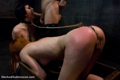 Photo number 10 from Calico and Cherry Torn's Live Feed shot for Sex And Submission on Kink.com. Featuring John Henry, Calico and Cherry Torn in hardcore BDSM & Fetish porn.