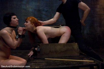 Photo number 11 from Calico and Cherry Torn's Live Feed shot for Sex And Submission on Kink.com. Featuring John Henry, Calico and Cherry Torn in hardcore BDSM & Fetish porn.