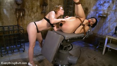 Photo number 12 from Dylan's Day Spa nightmare shot for Everything Butt on Kink.com. Featuring Madison Young and Dylan Ryan in hardcore BDSM & Fetish porn.