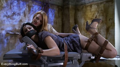 Photo number 4 from Dylan's Day Spa nightmare shot for Everything Butt on Kink.com. Featuring Madison Young and Dylan Ryan in hardcore BDSM & Fetish porn.