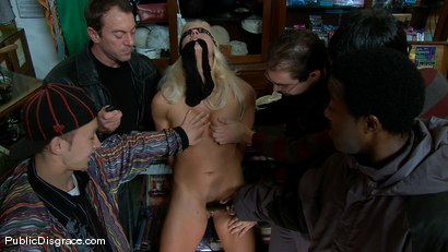 Photo number 4 from Holly Heart shot for Public Disgrace on Kink.com. Featuring Randy Spears and Holly Heart in hardcore BDSM & Fetish porn.