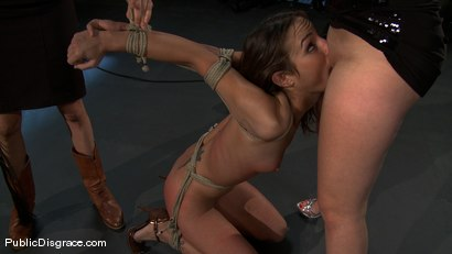 Photo number 6 from Amber Rayne - The Biggest Whore on Earth? shot for Public Disgrace on Kink.com. Featuring John Strong and Amber Rayne in hardcore BDSM & Fetish porn.
