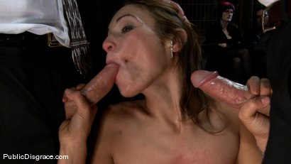 Photo number 7 from Amber Rayne - The Biggest Whore on Earth? shot for Public Disgrace on Kink.com. Featuring John Strong and Amber Rayne in hardcore BDSM & Fetish porn.