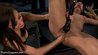 Photo number 13 from Amber Rayne - The Biggest Whore on Earth? shot for Public Disgrace on Kink.com. Featuring John Strong and Amber Rayne in hardcore BDSM & Fetish porn.