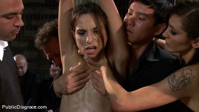 Photo number 2 from Amber Rayne - The Biggest Whore on Earth? shot for Public Disgrace on Kink.com. Featuring John Strong and Amber Rayne in hardcore BDSM & Fetish porn.